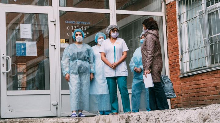 В Омской области выявили 54 новых случая коронавируса