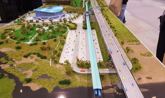 На строительство дорог к новой ледовой арене в Новосибирске выделили почти полмиллиарда