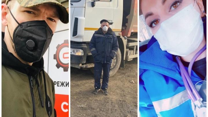 Вирусу назло: кто из екатеринбуржцев продолжает работать, несмотря на опасность заразиться