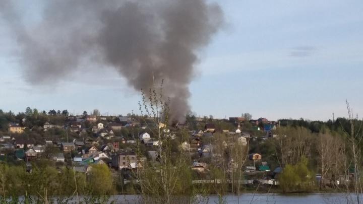 В Чайковском на пожаре в доме погибли супруги