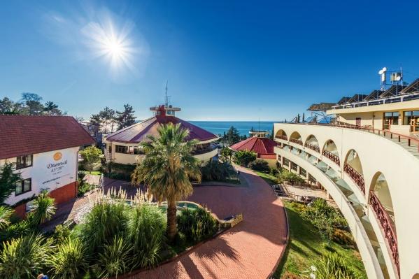 Курортные отели в Сочи и в Крыму наиболее востребованы среди российских туристов