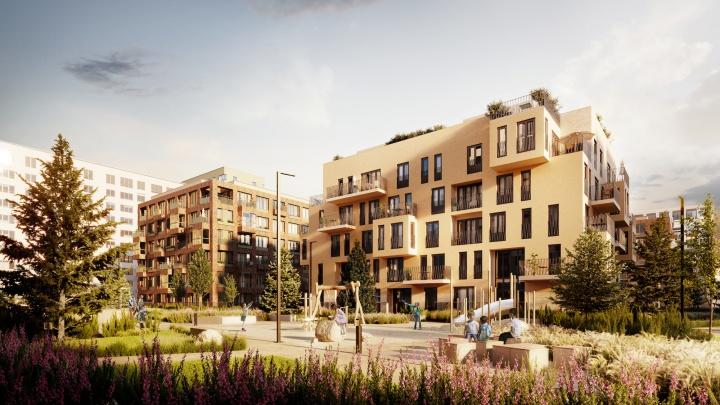 Два новых дома и урбан-виллу построят в «Европейском» квартале