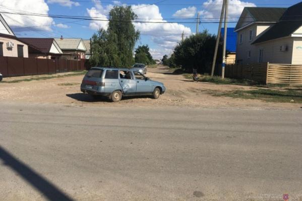 Авария в Николаевском
