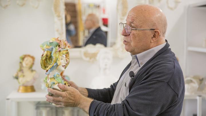 «Изоляция пошла на пользу»: как грузинский скульптор развил в российской глубинке фарфоровый бизнес