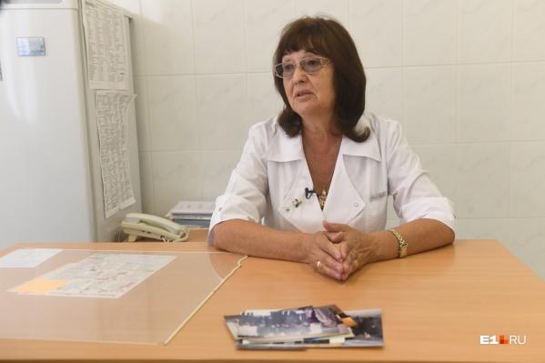 Галина Манакова тоже врач, она работала в одном отделении со своим мужем