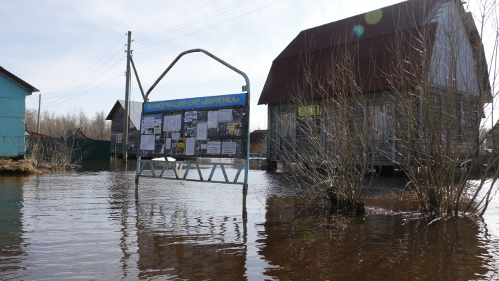 В Архангельской области подтоплено 11 населённых пунктов