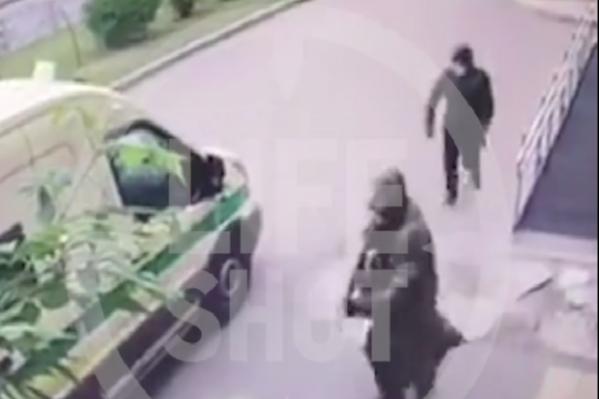 Вооруженное нападение на инкассаторов