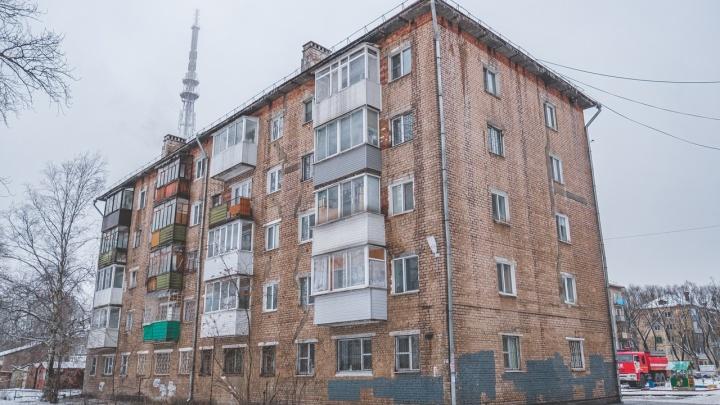 В доме на улице Студенческой, где произошел пожар, крышу планировали менять в ближайшие годы