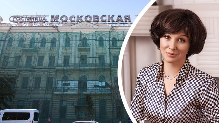 «Мое здание — что хочу, то и делаю»: владелица гостиницы «Московская» ответила администрации Ростова