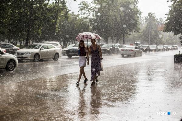 На этой неделе без зонтика на улицу выходить не стоит