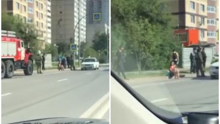В Зареке на пешеходном переходе сбили девушку