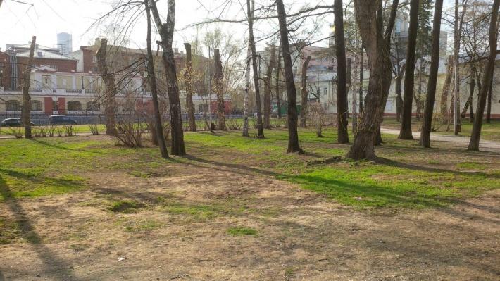 Сад Вайнера, где построят новый зал филармонии, отказались признавать памятником