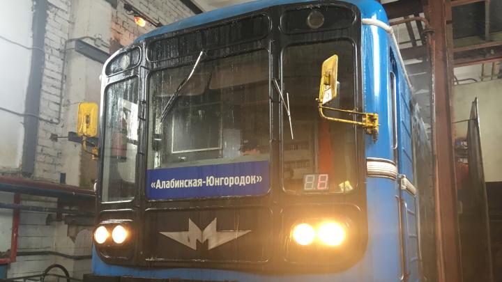 В самарском метрополитене продезинфицируют вагоны