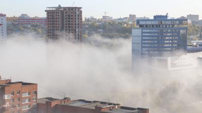 Туман-туманище над Уфою стелется: на столицу Башкирии опустилось «парное молоко»