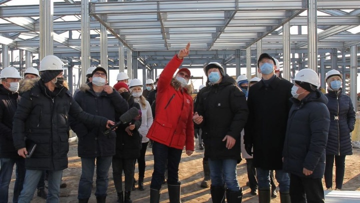 Премьер-министр Башкирии Андрей Назаров показал новый инфекционный госпиталь в Стерлитамаке
