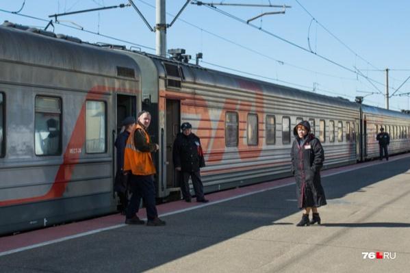 Ивановский и рыбинский поезда перестанут приезжать на Ярославль-Главный в начале апреля