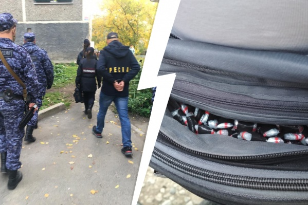 До встречи с Росгвардией мужчина успел разложить «закладки» на ВИЗе