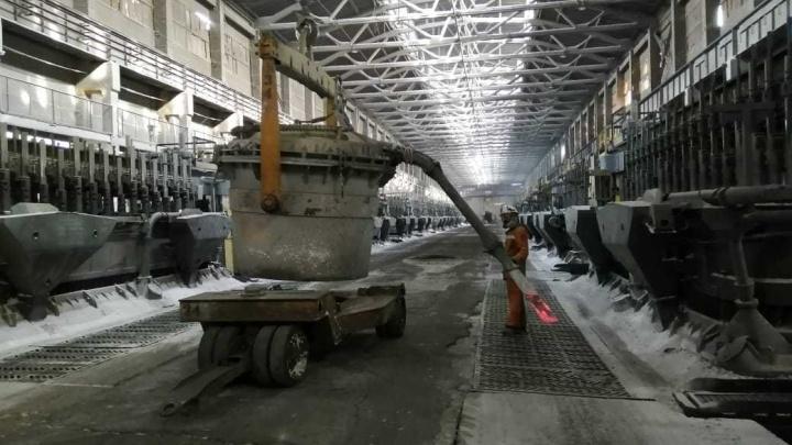Оборудование алюминиевого завода в Красноярске переводят на экосырьё