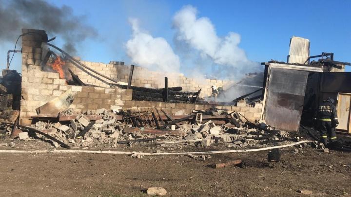 В Башкирии заживо сгорели шесть работников хозяйства по выращиванию овощей