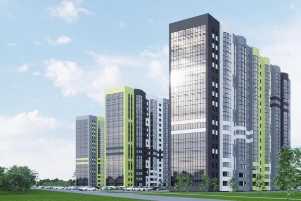 Сдача первого дома планируется уже в III квартале следующего года