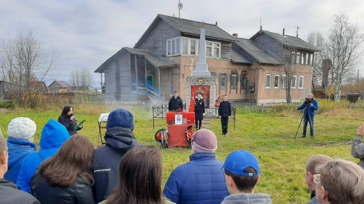 В Холмогорском районе похоронили солдата, погибшего в Великую Отечественную войну