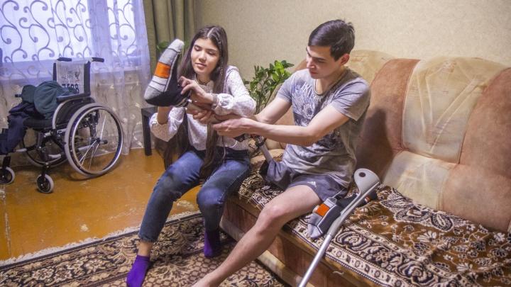 Уфимский спортсмен, потерявший ногу из-за рака, готовится к госпитализации