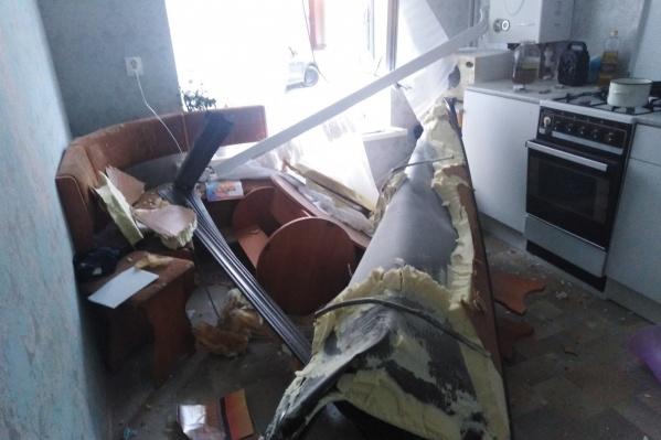 Вот к каким повреждениям привел взрыв