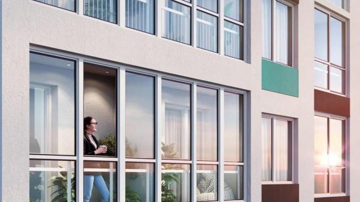 Бизнес-класс, доступный каждому: в стильной новостройке продают квартиры от 2550000рублей