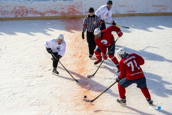 В Новосибирске провели региональный турнир за кубок телеканала — правда, тоже регионального