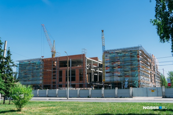 Строительство комплекса началось в сентябре прошлого года