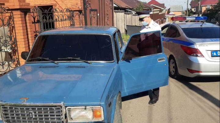 13-летний подросток с разрешения родителей колесил по Покровке на авто, но попался инспекторам
