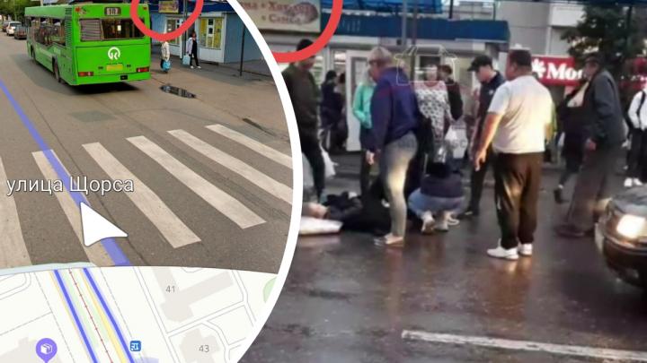 На пешеходном переходе на Щорса сбили девочку-подростка