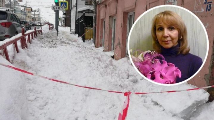«Мама не чувствует ничего ниже груди»: осудили сотрудника ФСИН, из-за которого на женщину упала глыба льда