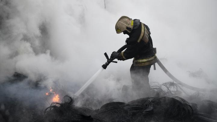 Во время пожара в Нижнем Тагиле погибли три человека