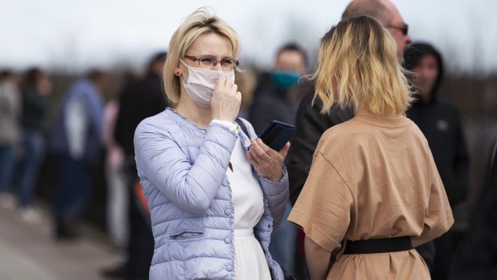 В крае за сутки снова более 150 больных коронавирусом
