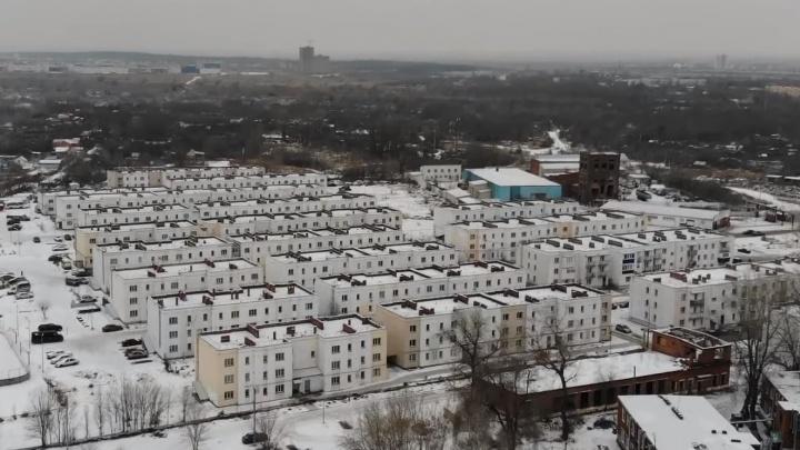 Самарский видеоблогер показал посёлок Озёрный с высоты птичьего полёта