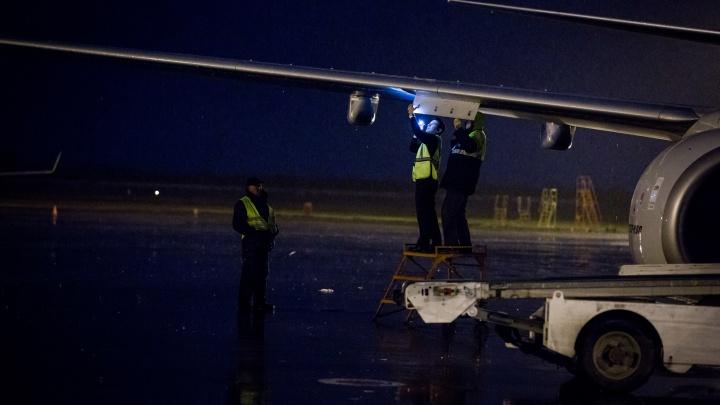 Самолёт из Новосибирска задел крылом автомобиль в Шереметьево. СК и прокуратура проводят проверки