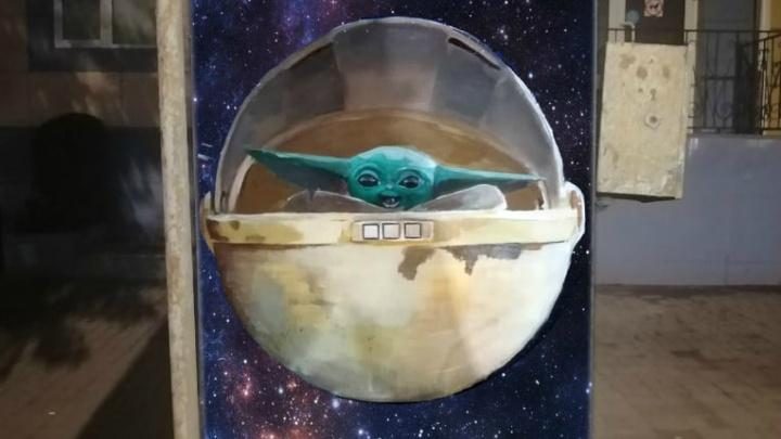 «Его любит полпланеты»: в Кургане на электрошкафу появятся персонажи из вселенной «Звездных войн»