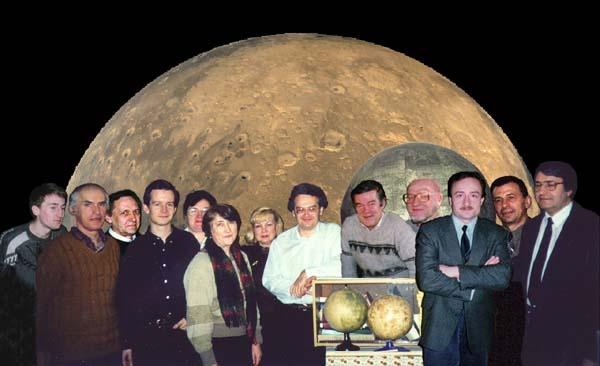 сотрудники отдела исследования Луны и планет Государственного астрономического института имени П. К. Штернберга МГУ