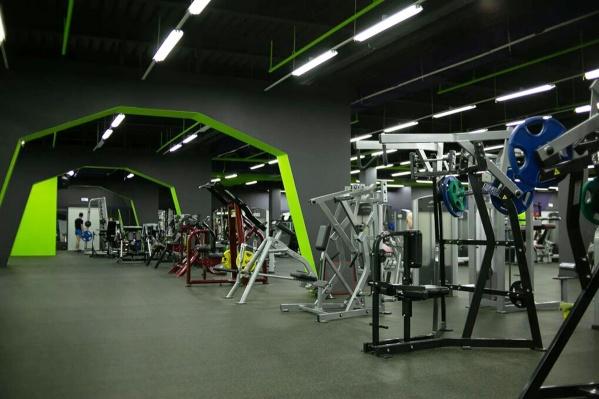 Общая площадь фитнес-клуба 4500 квадратных метров