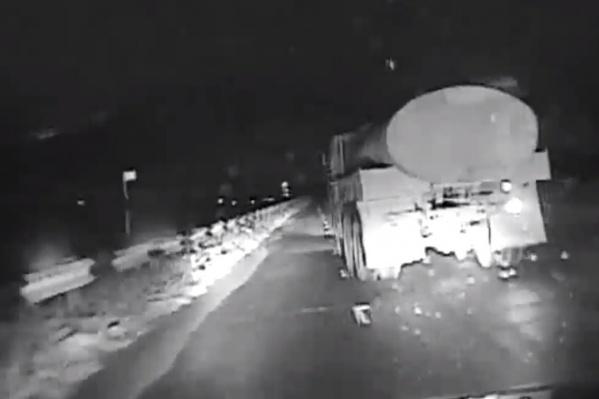 Водителя удалось остановить только стрельбой по колесам