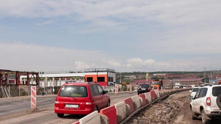 Названа дата открытия моста через Качу на обходе Красноярска