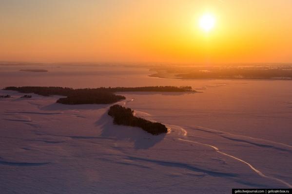 Публикуем новую подборку зимних кадров из Новосибирской области