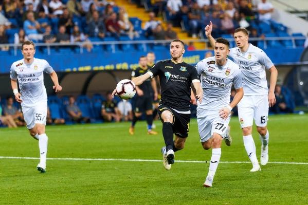 «Ростов» не может забить «Уфе» уже в трех матчах подряд