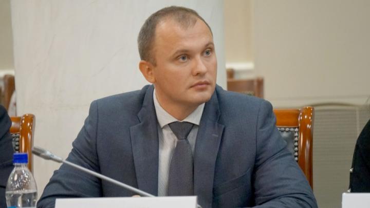 Правительство Архангельской области покинул министр природных ресурсов и ЛПК Александр Ерулик