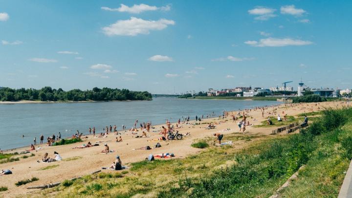 Жара без осадков и ветра в Омске сохранится до конца недели