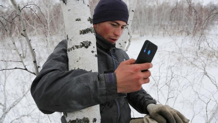 «С березы в этом году не слезу»: рядом с деревней «омского колхозника» пока не будут ставить вышку