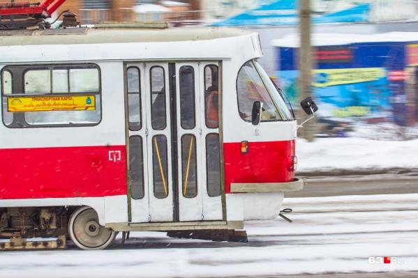 По словам министра, трамваи формируют «транспортный каркас» города