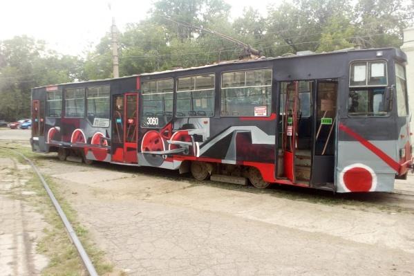 Трамвай посвятили юбилею Победы