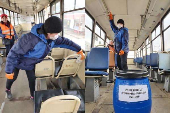 Челябинскому транспорту никакие вирусы не страшны